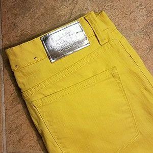 LRL Ralph Lauren Yellow Jeans Size 8